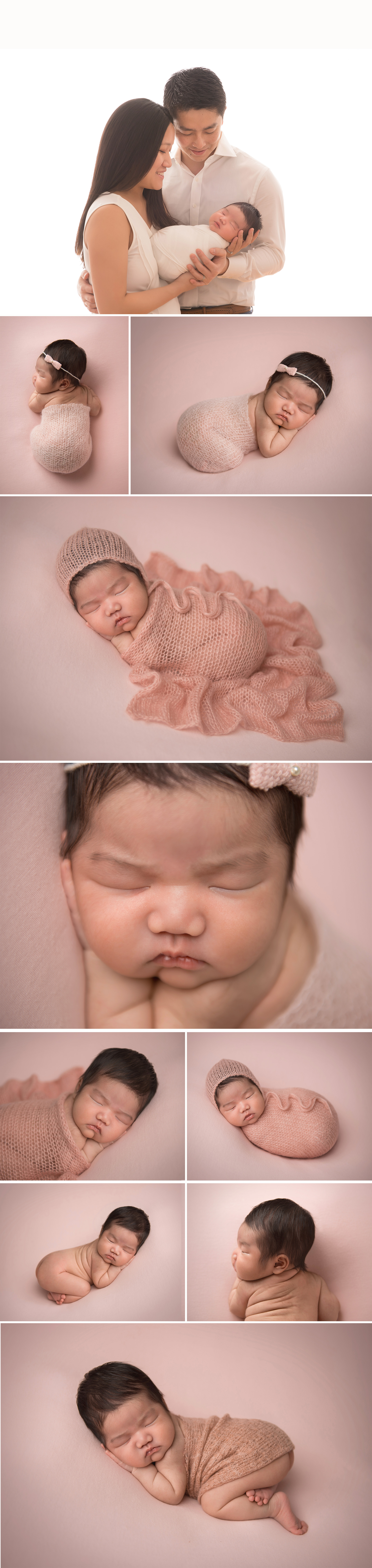 nyc premier newborn photographer studio