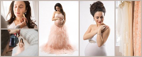luxury professional pregnancy photography experience NYC